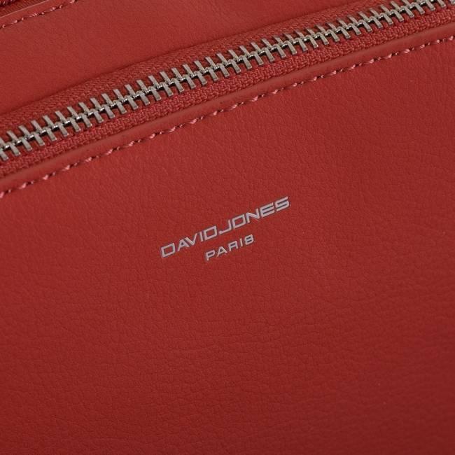 Torebka Listonoszka czerwona David Jones CM6006