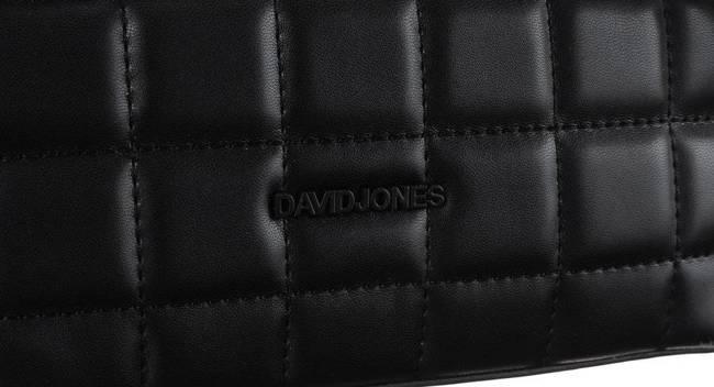 Torebka damska czarna David Jones 6288-1