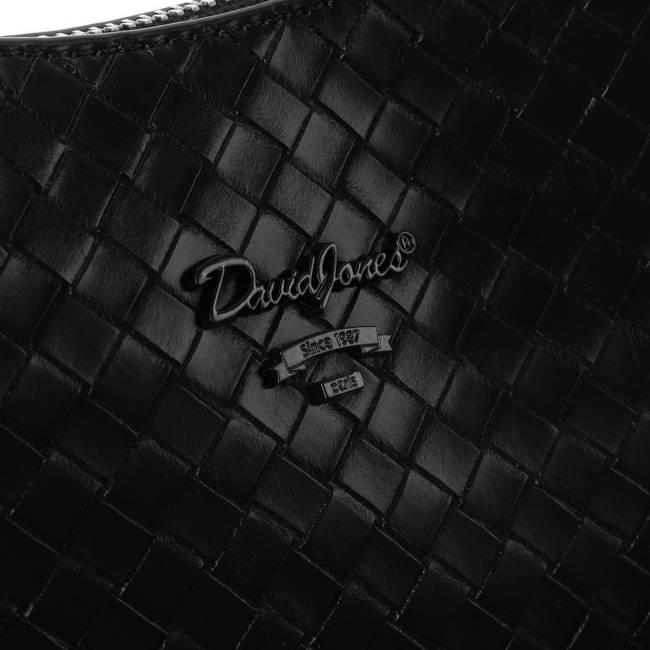 Torebka damska czarna David Jones CM6047 BLACK