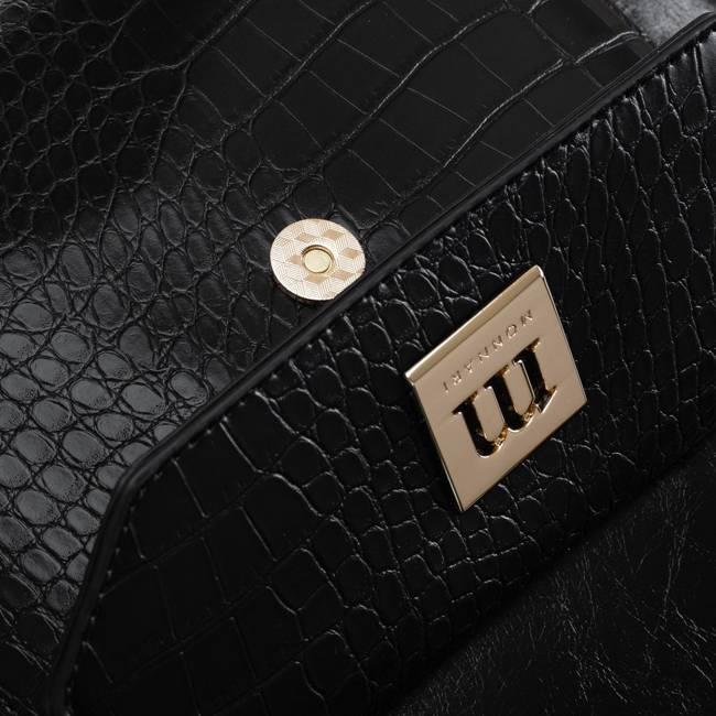 Torebka damska czarna Monnari BAG1200-020
