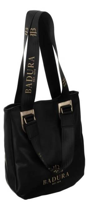 Torebka damska czarna shopper Badura T_D167CZ_CD