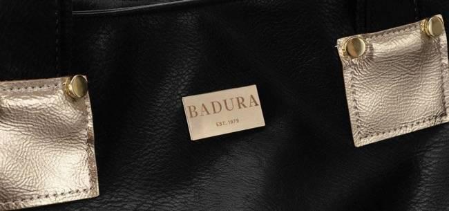 Torebka damska czarno-złota Badura T_D160CZ_CD