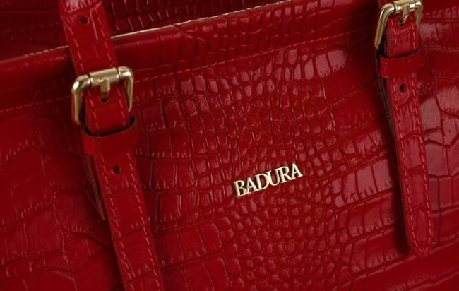 Torebka damska czerwona Badura T_D216CR_CD