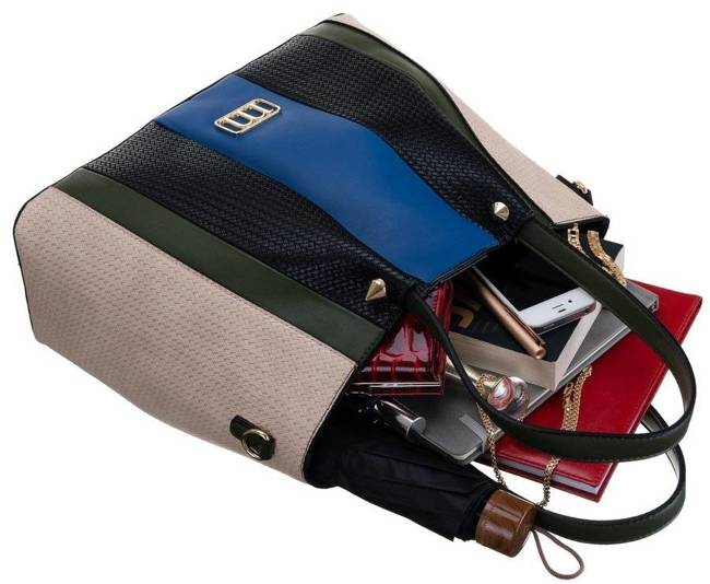 Torebka damska granatowa Monnari BAG1250-M08