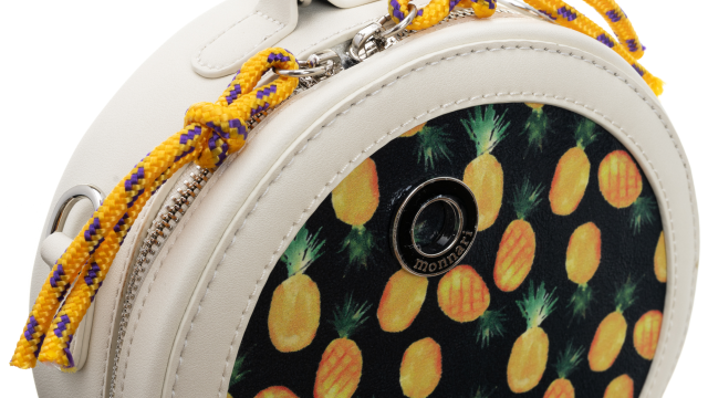 Torebka damska kuferek w ananasy Monnari 1650