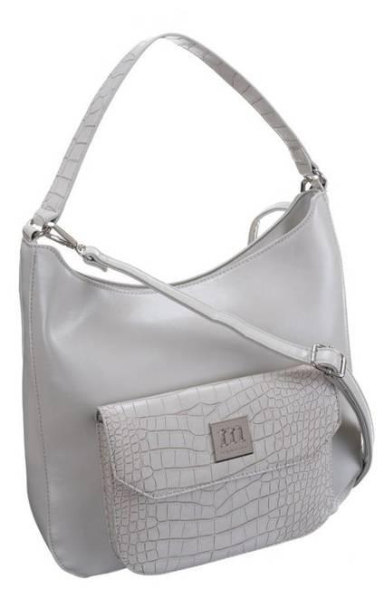 Torebka damska srebrna Monnari BAG1200-019