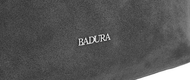 Torebka damska szara Badura T_D192SZ_CD
