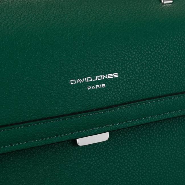 Torebka damska zielona David Jones CM6100 GREEN