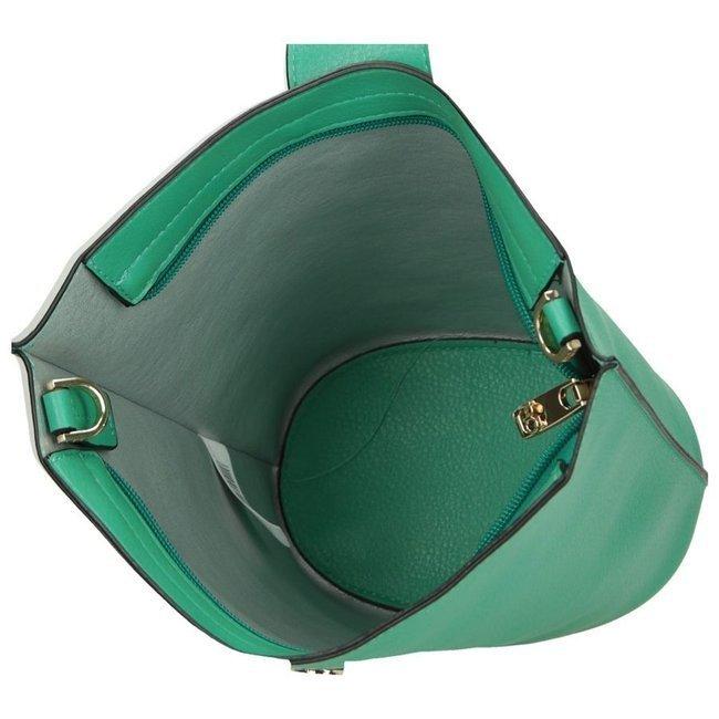 Torebka damska zielona NOBO NBAG-I1600-C008