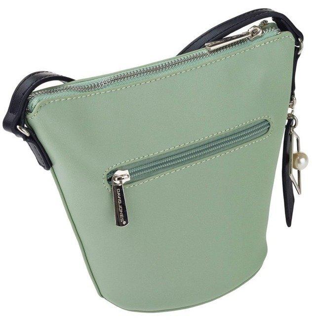 Torebka damska zielona koszyk David Jones CM5699