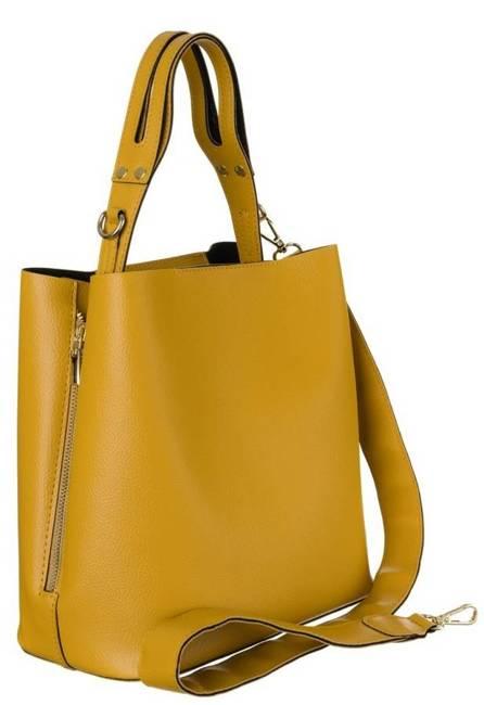Torebka damska żółta Badura BA/008 AS CAMEL