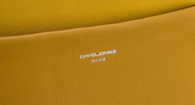 Torebka damska żółta David Jones CM5768