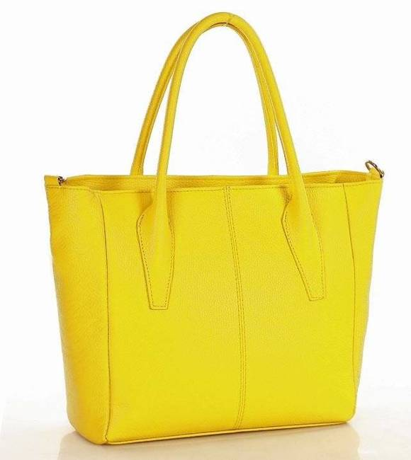 Torebka damska żółta MARCO MAZZINI 392e