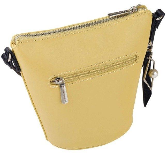 Torebka damska żółta koszyk David Jones CM5699