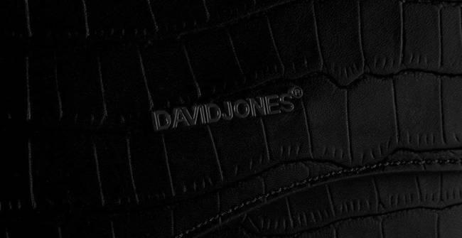 Torebka listonoszka czarna David Jones  CM6013