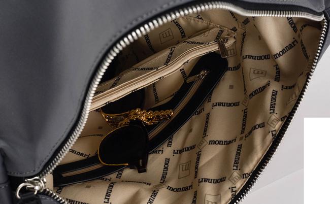 Torebka shopper bag nieprzemakalna Monnari granat
