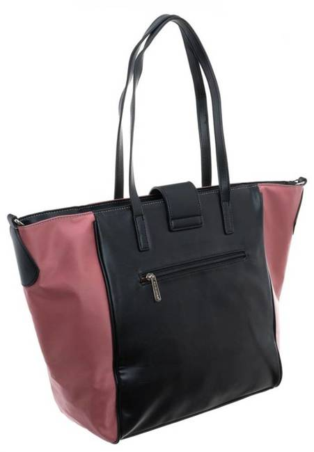 Torebka shopperka A4 David Jones CM5708 różowa