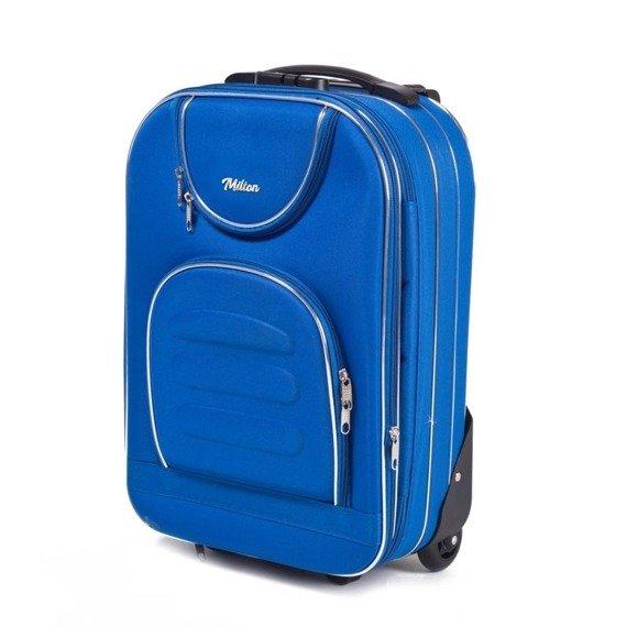 Walizka podróżna kabinowa XS Milton A801 light blue