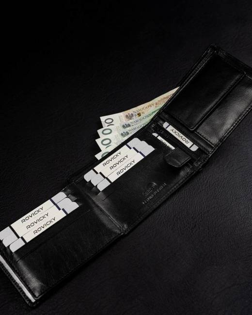 Zestaw pasek i portfel Rovicky R-N992-110-T-4716 BL