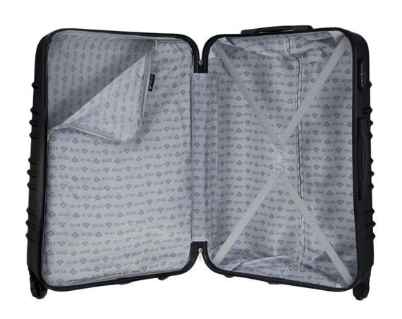 Zestaw walizek podróżnych STL838 czarny