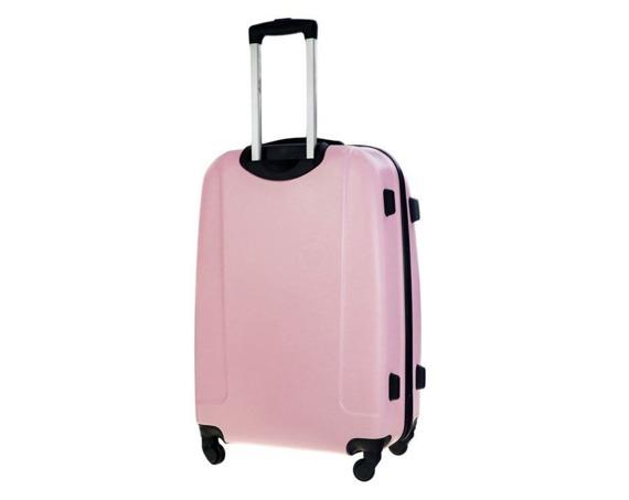 Zestaw walizek podróżnych STL856 różowy