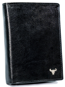 Portfel męski czarny Buffalo Wild N4-BW