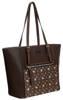 Shopper bag c. brązowy David Jones 6531-4A D.BROWN